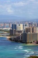 Waikiki Strand, Honolulu, Oahu, Hawaii foto
