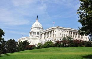 Kapitol der Vereinigten Staaten in Washington DC, USA foto
