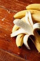 frische Bananen foto