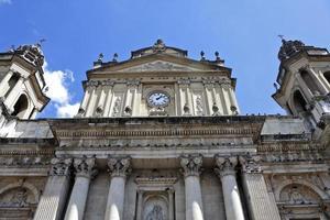 Kathedrale von Guatemala-Stadt foto