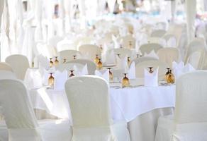 Hochzeit im Freien foto