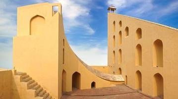 Jantar Mantar Observatorium. Jaipur, Indien foto