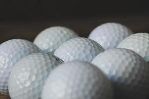 Golfbälle foto