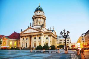 franzosischer dom in berlin foto