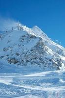 Gipfel und Skilift