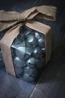 Weihnachtsgeschenk Glocken foto