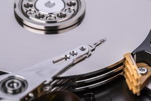 Festplattenlaufwerk Festplatte foto