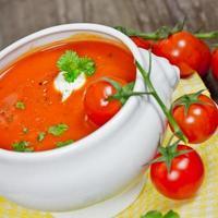 Tomatensuppe foto
