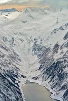 Skigebiet Zillertal - Tirol, Österreich.
