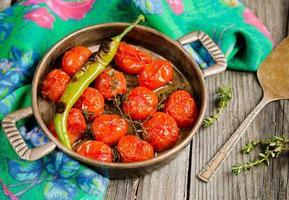 geröstete Tomaten foto