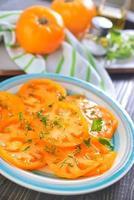 Salat aus Tomaten foto