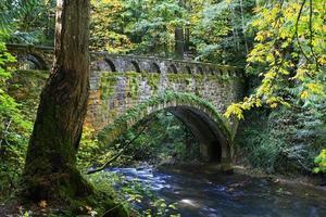 Steinbrücke foto
