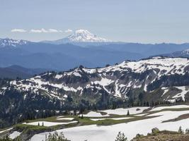 Blick auf Mount Adams, Washington