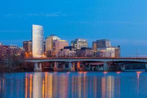 Rosslyn Wolkenkratzer Washington DC - Vereinigte Staaten foto