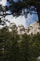 Mount Rushmore National Memorial South Dakota Präsidentenspur foto