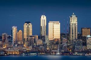 Seattle, Skyline von Washington foto