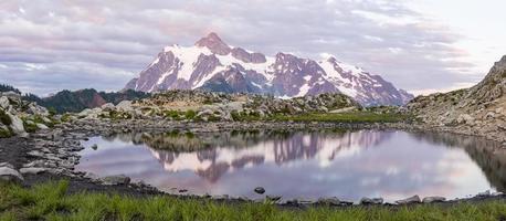 mt. Shuksan Tarn Panorama foto