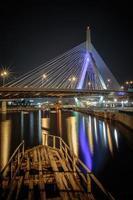 Zakim Brücke und Wrack foto