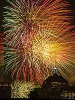 4. Juli Feuerwerk foto