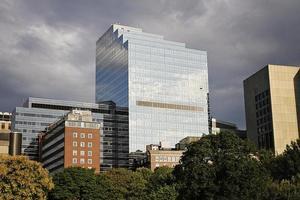 Bürogebäude in Boston foto