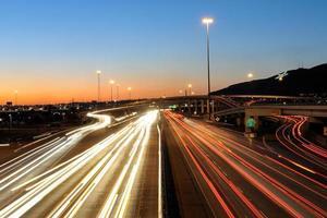 Hauptverkehrszeit in El Paso, Texas