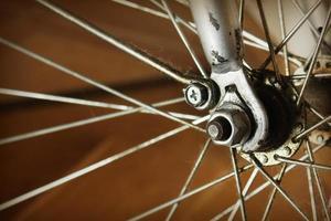 altes Fahrrad foto