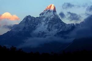 Ama Dablam Mount, Nepal foto