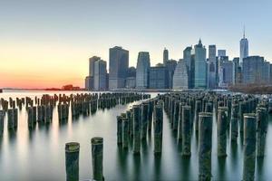 Skyline von New York foto