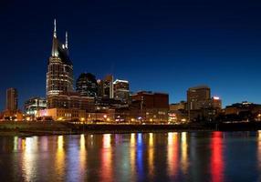 Nashville in der Nacht foto