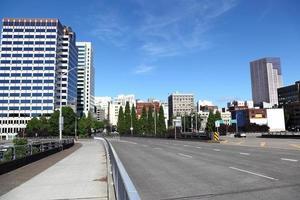 Innenstadt von Portland foto