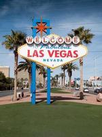 Willkommensschild für Las Vegas, Nevada foto