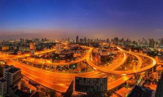 Panorama Bangkok Schnellstraße