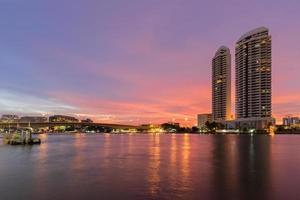 Brücke in Bangkok foto