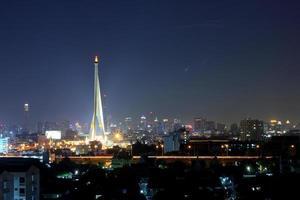 Bangkok bei Nacht foto