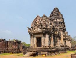 der phimai historische park in thailand foto