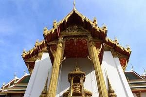der große Palast in Bangkok foto