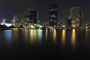 Nacht in Bangkok foto