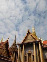großer Palast in Bangkok foto