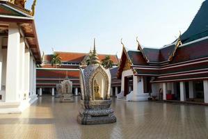 Wat Saket, Bangkok, Thailand foto