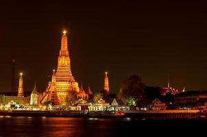 Arun Tempel, Bangkok, Thailand foto