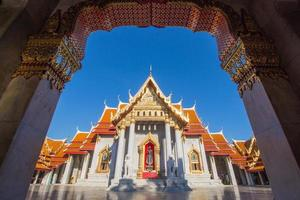 Benchamabophit Dusitvanaram Tempel foto