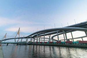 Bhumibol-Brücke foto