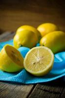 gelbe Zitronen foto