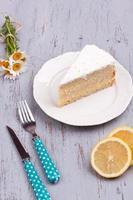 Zitronenkuchen foto