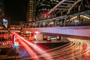 Silom Straße foto