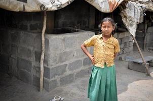 ländliches Mädchen foto