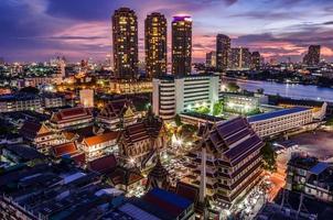 Tempel, Bangkok Thailand foto