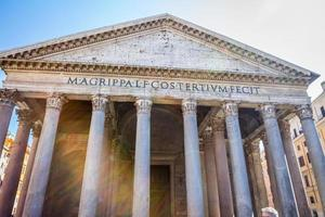 das Pantheon von Rom foto
