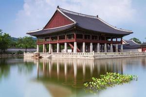 Gyeongbokgung Palast, Seoul, Südkorea.
