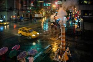 Nacht in New York foto